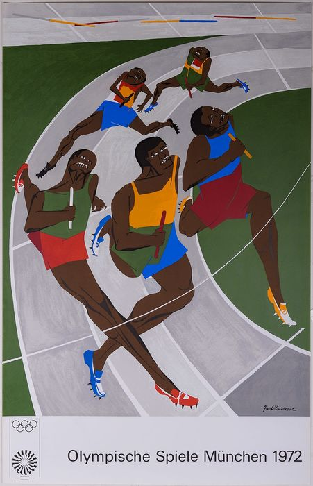 Jacob Lawrence - Olympische Spiele München  - 1972