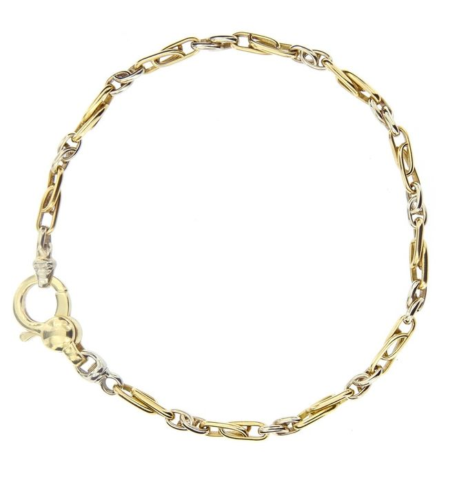 Made in Italy - 18 kt. White gold, Yellow gold - Bracelet