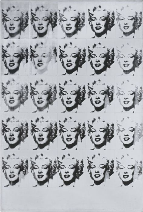 Andy Warhol (after) - Marilyn Monroe in Black and White (Twenty-Five Marilyns)
