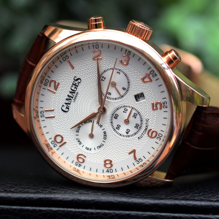 Gamages of London - EnigMatic - Automatic - Hand assembled - GA0010 - Herren - 2011-heute