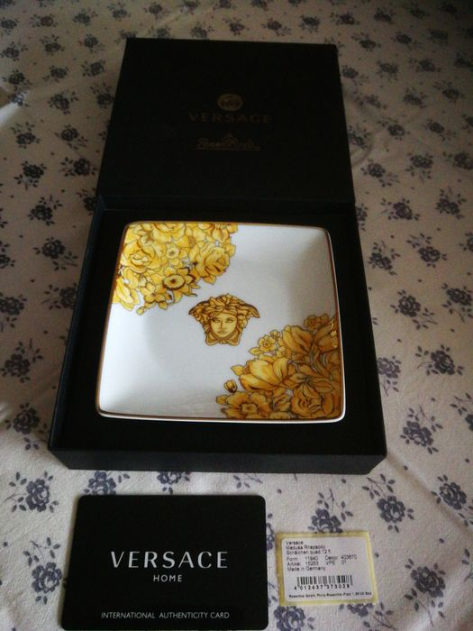 Gianni Versace Rosenthal Confectionery Bowls Porcelain