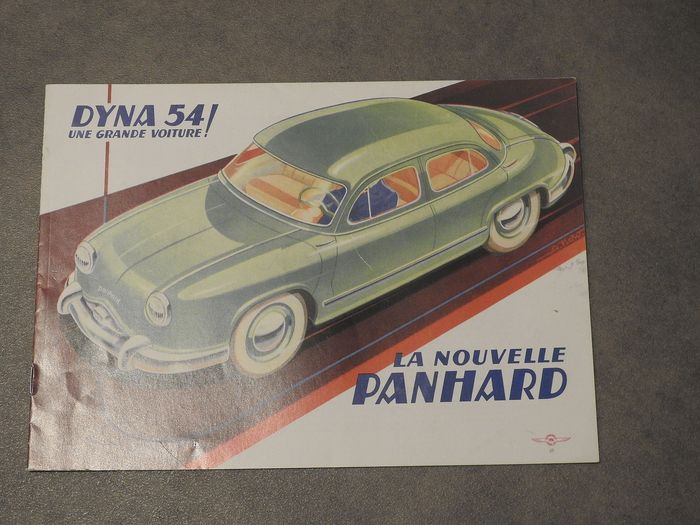 Brochures / Catalogues - PL.17 Luxe, Grand Luxe, Cabriolet, Tigre, Dyna 54 -  - Panhard - 1950-1960