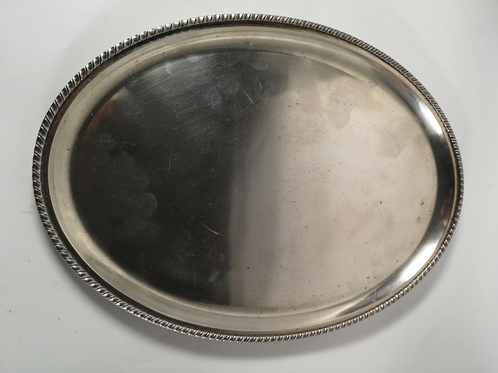 Tray - Silver - Italy - First half 20th century