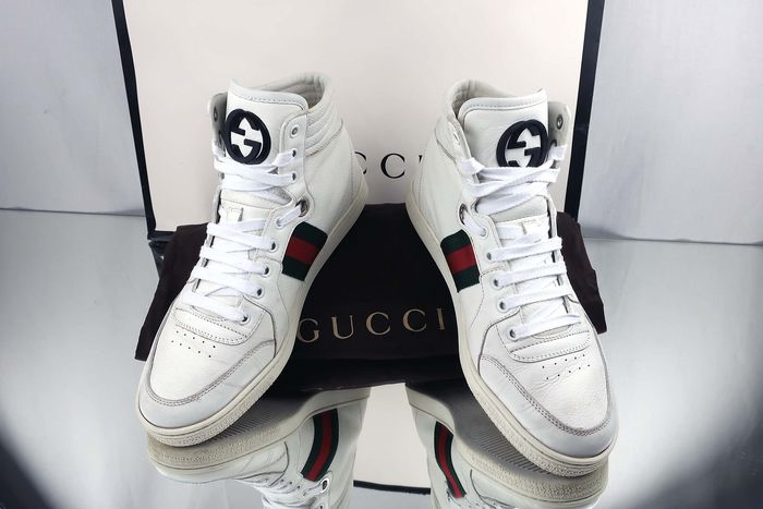 Gucci - Ace High Top Sneakers - Size