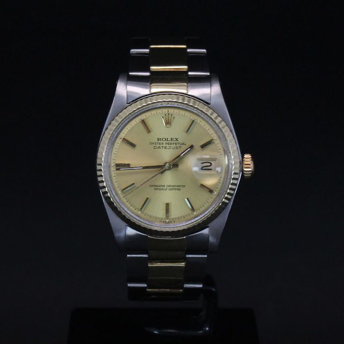 Rolex - Oyster Perpetual Datejust NO RESERVE PRICE - 1601 - Men - 1960-1969