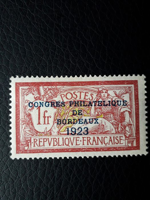 France - Merson 182, Bordeaux exhibition, mint with hinge - Yvert 182