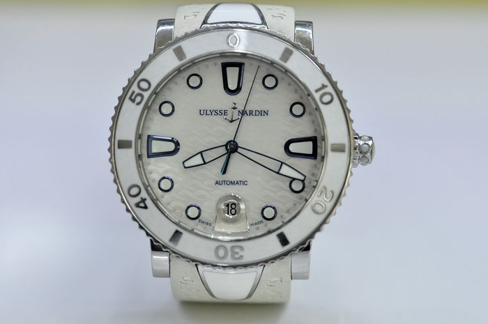 "Ulysse Nardin - ""NO RESERVE PRICE"" Oman Khanjar Marine Lady Diver Mother of Pearl Dial - REF. 8103-101 - Women - 2011-present"