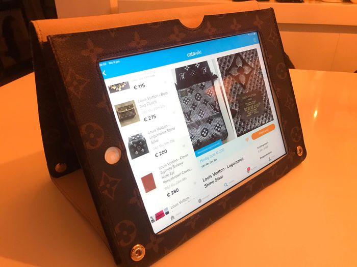 Louis Vuitton cubierta del iPad