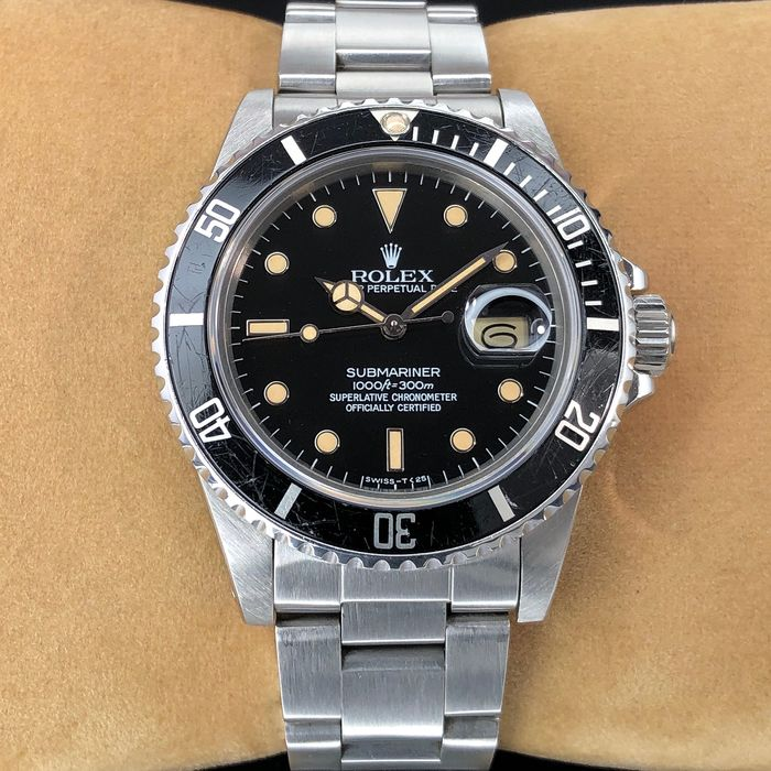 "Rolex - Submariner Date ""Spider Dial"" - 16800 - Men - 1980-1989"