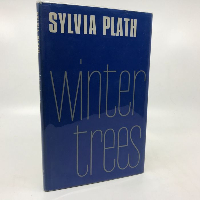 Sylvia Plath - Winter Trees (Anthony Thwaite's personal copy from his library) - 1971