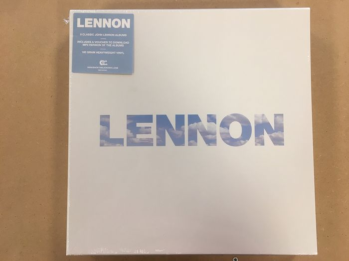 John Lennon - Lennon LP Box Set incl 9 lp Albums - LP Box set - 2014/2014