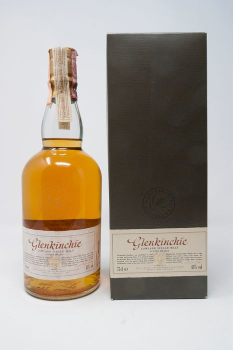 Glenkinchie 10 years old Lowland Single Malt - Official bottling - b. Anni '80 - 75cl