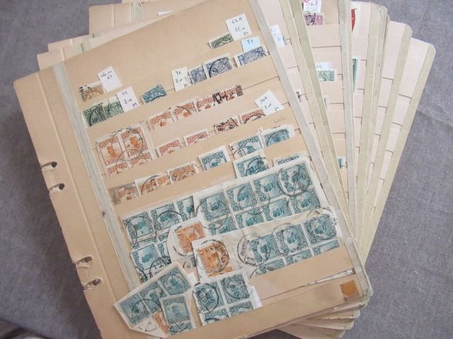 Chiny - Collection of stamps