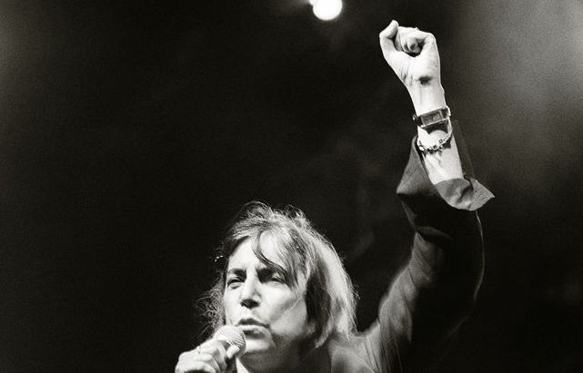 "Roberto Cavalli (1971) - Patti Smith - ""People have the power"" Cm.42 x 29,5"
