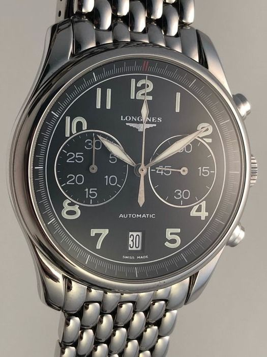 Longines - Master Collection Avigation Chronograph Special Series - Heren - 2011-heden