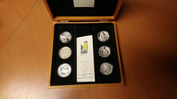 Europe - Lot of 6 medals 2000 - Silver