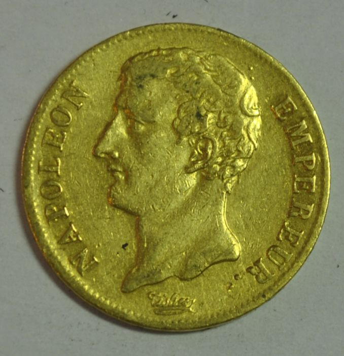 France. Napoléon I (1804-1814). 20 Francs An 12-A, Paris