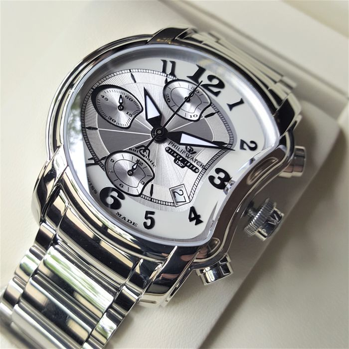 Philip Watch - Swiss Made Chronograph Automatic Anniversary 150 Limited Edition - Men - 2020 - New