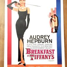 Breakfast at Tiffany's (1961)  - Audrey Hepburn - Paramount Picture - Poster, Original US Cinema re-release 1981 - 20th anniversary - 1 Sheet