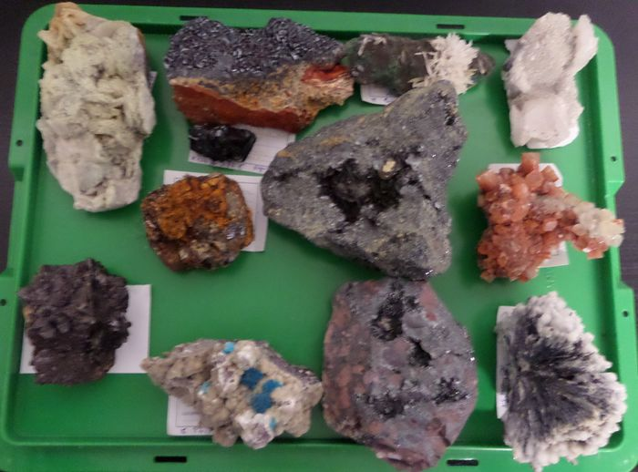 Mineral Collection - 4.7 kg - (12)
