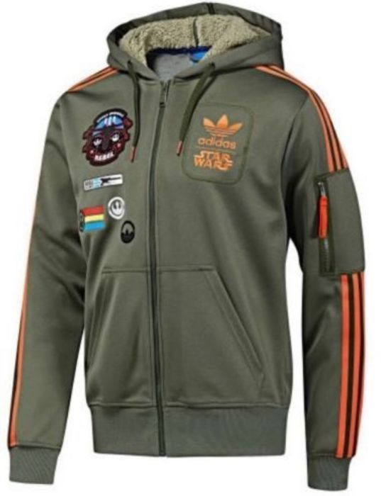 Star Wars - Giacca Adidas Originals - X Wing Hoodie Military Pilot - Size XL