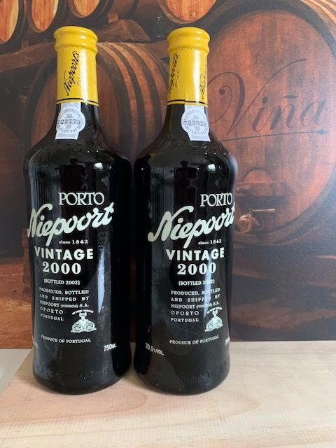 2000 Niepoort Vintage Port - 2 Botellas (0,75 L)