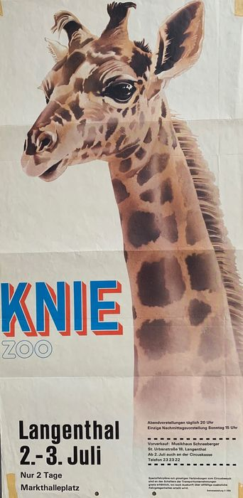 Anonymous - Circus Knie Zoo - 50 - Anni '60