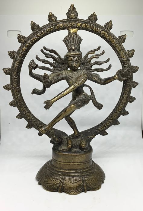 Nataraja - Bronzo - Lord of the Dance - India - Prima metà del 20° secolo