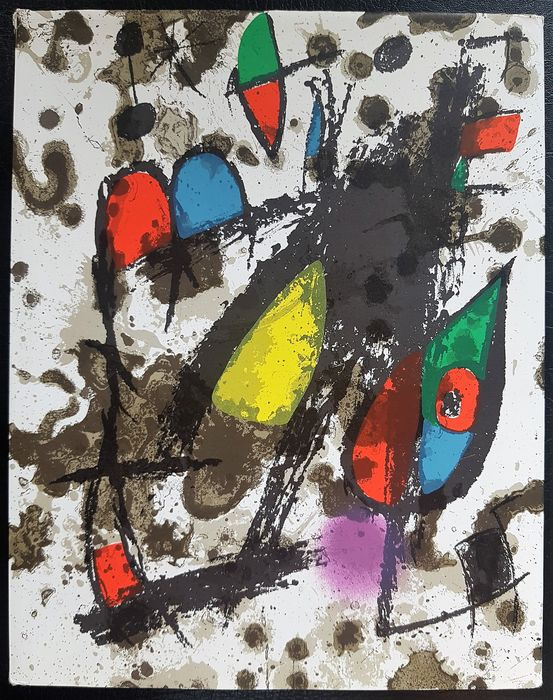 Joan Miró - Der Lithograph II (1953 - 1963) - German Edition - 1975