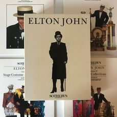 Elton John at Sotheby's 1988 - Approx 590 Pages Of Elton John Exhorbitantia - Various media - 1988