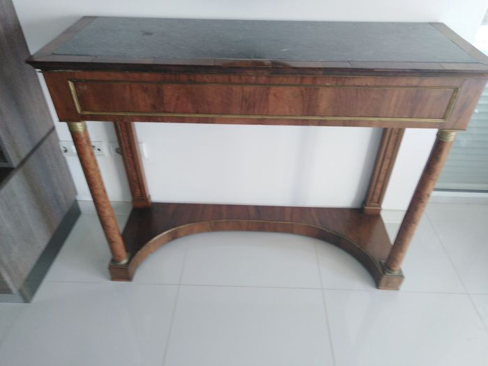 Console table (1) - Wood - Early 19th century