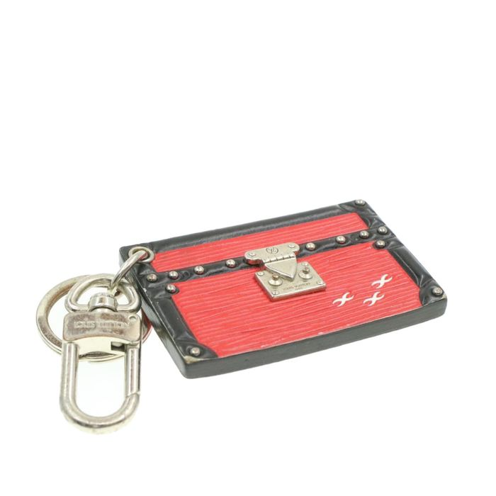 Louis Vuitton - Epi Petite Malle Trunk Key Ring Charm