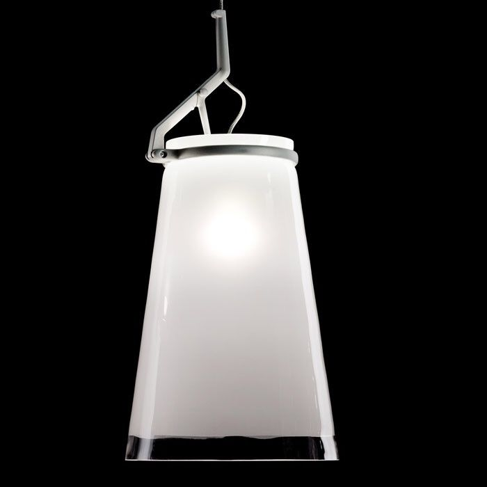 Paolo Rizzatto - Luceplan - Hanging lamp (2) - Glassglass
