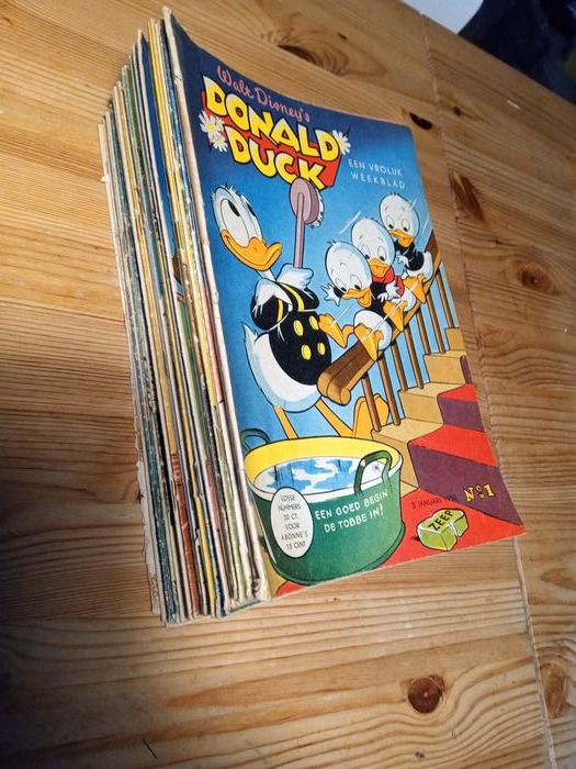 Donald Duck 1 - 52 - strip jaargang 1953 - Page volante - EO - (1953/1953)