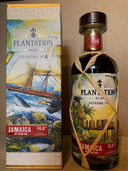 Plantation 1984 36 years old LMdW Exclusive - Extreme No. 4 - Clarendon MMW - b. 2020 - 70cl