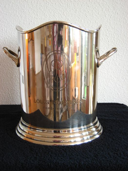 Louis Roederer. - Champagne / wine cooler. - Silverplate