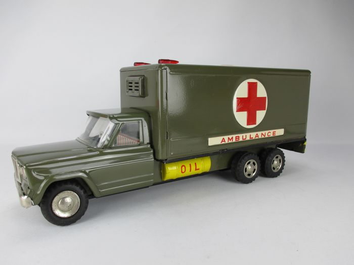 Made in Japan - Vettura Leger ambulance Jeep - 1960-1969 - Giappone