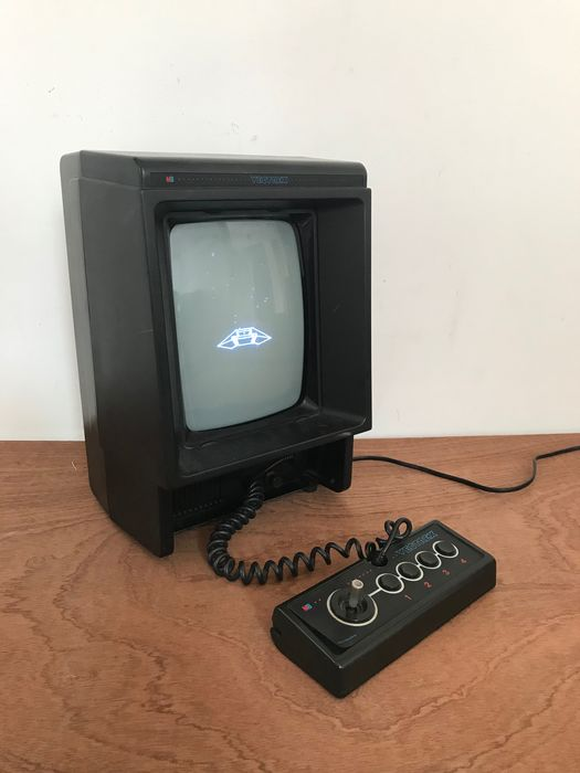 MB Japan - Rare Vectrex 1982 computer with Minestorm game working condition
