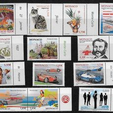 Monaco 2013 - 1 complete year of stamps and blocks - Yvert 2858/2906