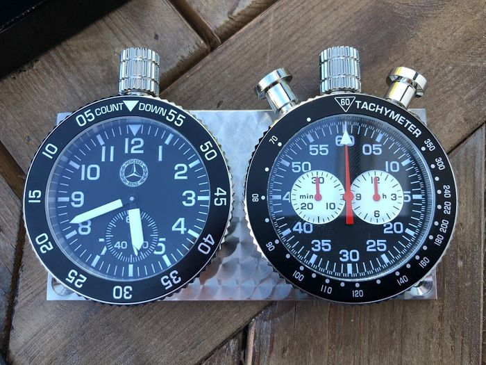 Chronographs - Rally dash clock set Mercedes-Benz Classic - Mercedes-Benz - After 2000