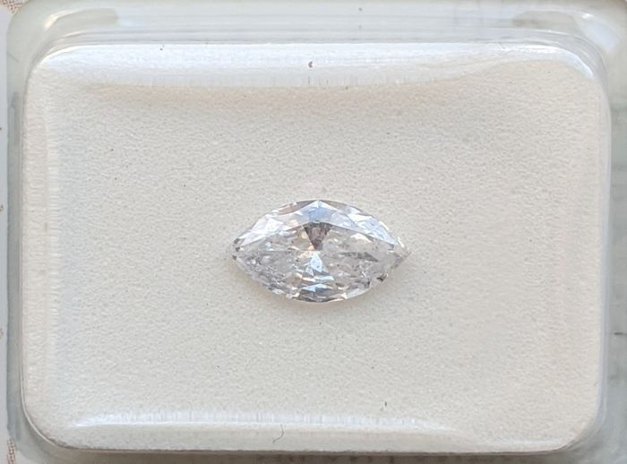Diamond - 0.45 ct - Marquise - E - SI2, No Reserve Price