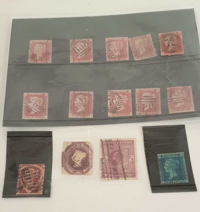 Great Britain 1847/1900 - Collection of English Stamps