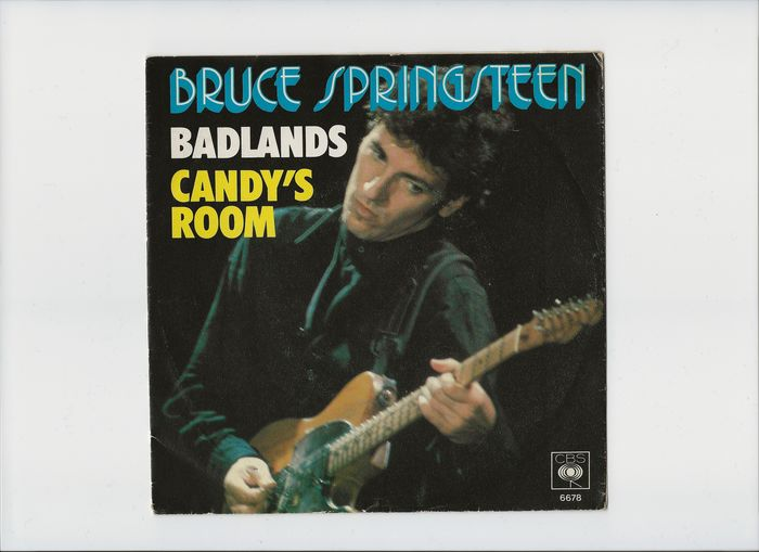 Bruce Springsteen - Badlands/ Candy's Room - Singolo 45 Giri - 1978