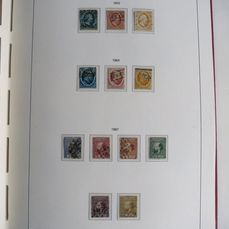 Pays-Bas 1852/1970 - Almost complete collection in an album