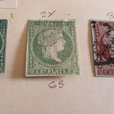 Spaanse koloniën - Collection of stamps in album