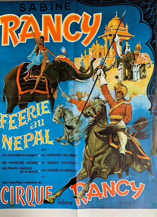 Anonymous - Cirque Sabine Rancy - Feerie aux Nepal - 75 - Anni '60