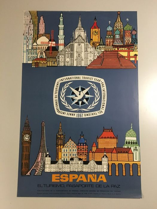 Unknown - x13 posters for Tourism in Spain - 1967