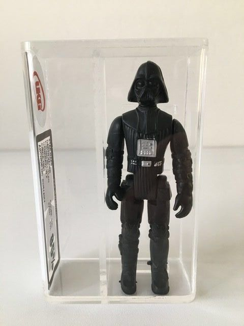 Star Wars - Pupazzetto Dart Vader - Polish Bootleg (!) from 1990 - very rare and collectable -  UKG graded