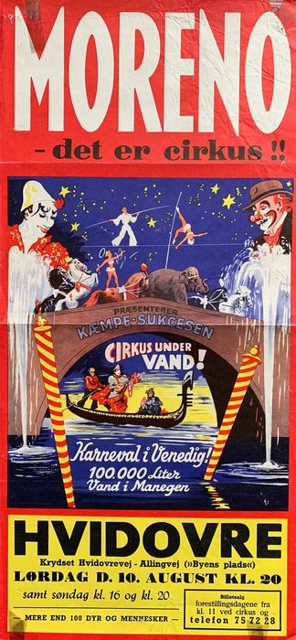 Anonymous - Cirkus Moreno -Cirkus under Vand - 75 - Anni '50