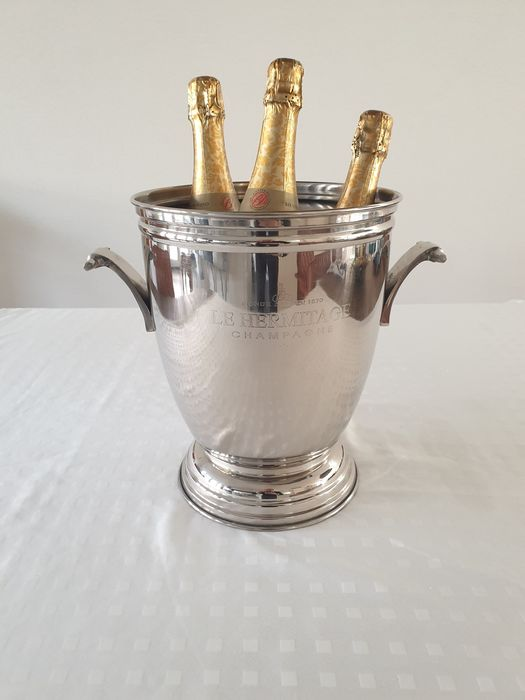 Wine / Champgane cooler - Silver plated (1) - Silverplate